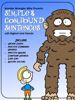 Simple and Compound Sentences with Bigfoot and Friends