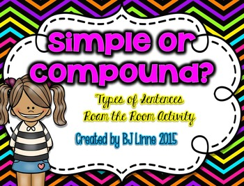 Simple or Compound Sentence Roam the Room