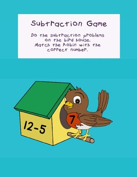 Simple subtraction game