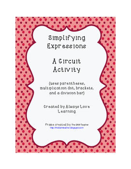 Simplifying Expressions---A Circuit Activity