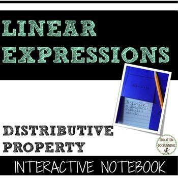 Simplifying Expressions Distributive Property Interactive