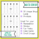 Simplify Fractions BINGO Math Game