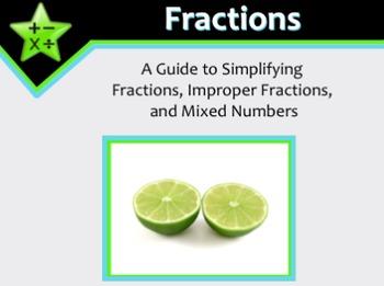Fractions: Simplifying Fractions, Improper Fractions, & Mi