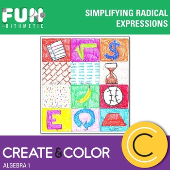 Simplifying Radical Expressions Create and Color