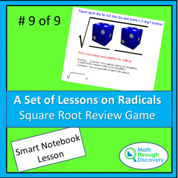 Square Root Review Game