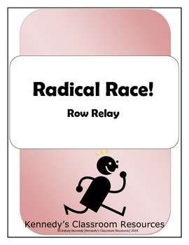 Simplifying Radicals - Row Relay