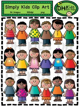 Simply Kids Clip Art