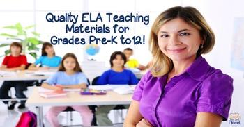Simply Novel Spring 2016 ELA Catalog featuring TpT Teacher