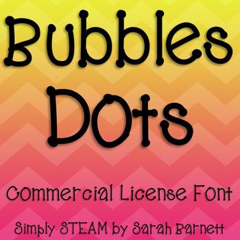 Font: Dots Font Commercial License