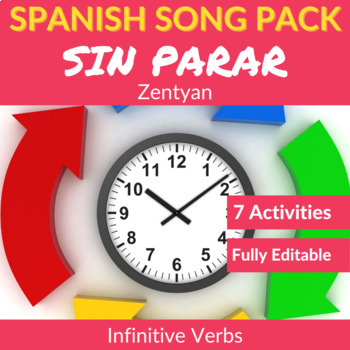 Sin parar by Zehtyan: Spanish Song to Practice Infinitive