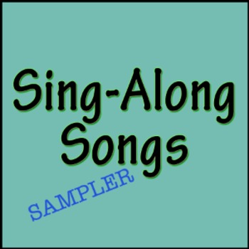 Sing-Along Songs - Sampler