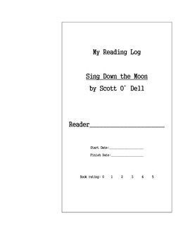 Sing Down the Moon by Scott O'Dell - Literature Circle Cut