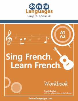 French Verbs, Grammar and Vocabulary Songs and Writing Exercises