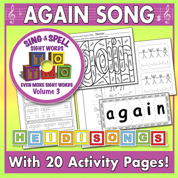Sing & Spell Sight Words - AGAIN