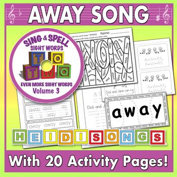 Sing & Spell Sight Words - AWAY
