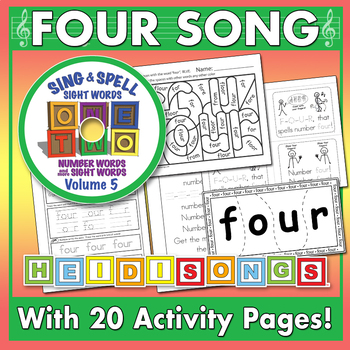 Sing & Spell Sight Words - FOUR