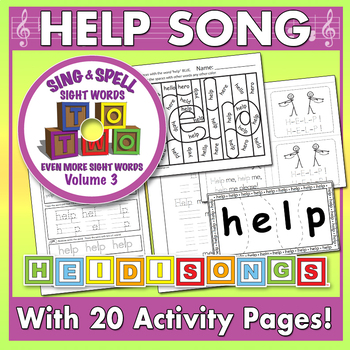 Sing & Spell Sight Words - HELP