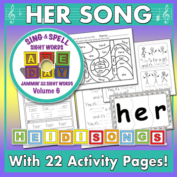 Sing & Spell Sight Words - HER