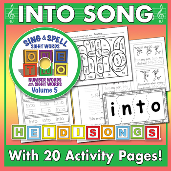 Sing & Spell Sight Words - INTO
