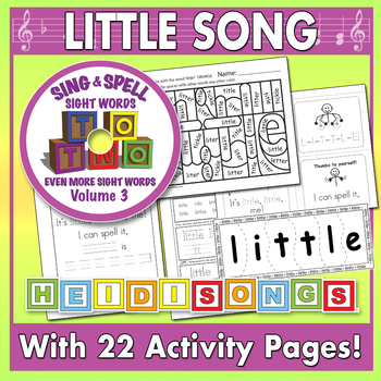 Sing & Spell Sight Words - LITTLE