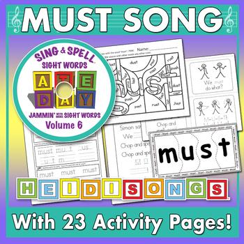 Sing & Spell Sight Words - MUST