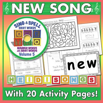 Sing & Spell Sight Words - NEW
