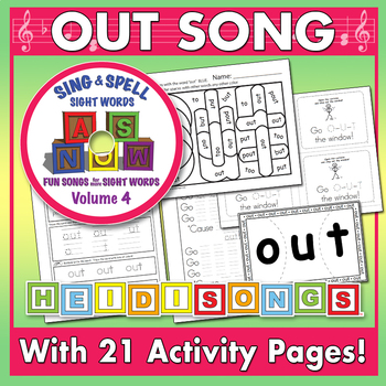 Sing & Spell Sight Words - OUT