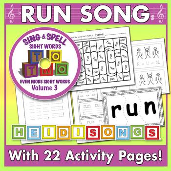 Sing & Spell Sight Words - RUN