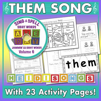 Sing & Spell Sight Words - THEM
