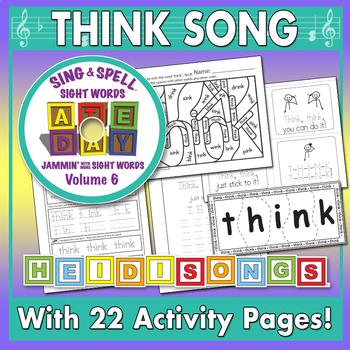 Sing & Spell Sight Words - THINK