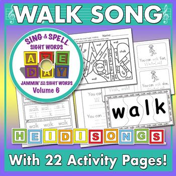 Sing & Spell Sight Words - WALK