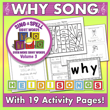 Sing & Spell Sight Words - WHY