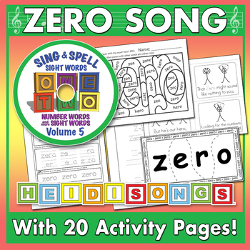 Sing & Spell Sight Words - ZERO