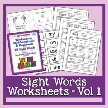 Sing & Spell Vol. 1 - Workbook, Mini-Songbooks, and Flashcards