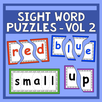 Sing & Spell Vol. 2 Sight Word Puzzles