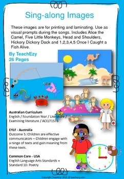 Sing-a-long pictures Resource