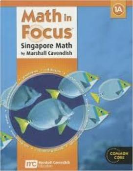 Singapore Math in Focus Chapter 4 Test Prep