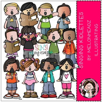 Singing Kidlettes by Melonheadz COMBO PACK