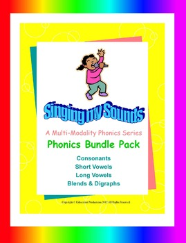 Phonics to the Core - Singing My Sounds Bundle Pack