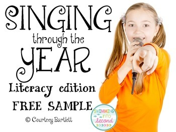 Singing through the Year (Literacy edition) - Free sample