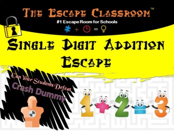 Single Digit Addition Escape Classroom