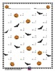 Single Digit Addition - Halloween Themed Worksheets - Vertical