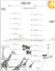 Single Digit Addition - African Safari Themed Worksheets -