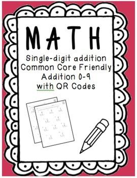 Single-Digit QR Code Addition