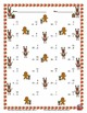 Single Digit Subtraction - Christmas Themed Worksheets - Vertical