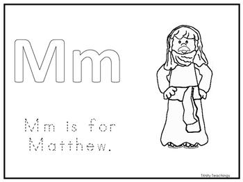Single Disciple Matthew Worksheet. Preschool-Kindergarten