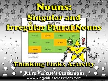 Singular Nouns and Plural Nouns - Irregular Nouns - Thinki
