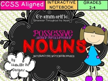 Singular, Plural, & Irregular Plural Possessive Nouns Inte