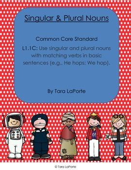 Singular & Plural Nouns L1.1c