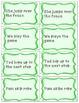 Singular & Plural Nouns and Verbs - Sentence Sort